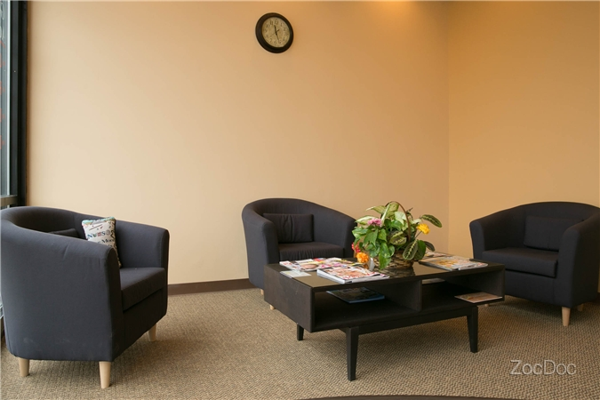 Grayslake IL Dentist Office Waiting Area